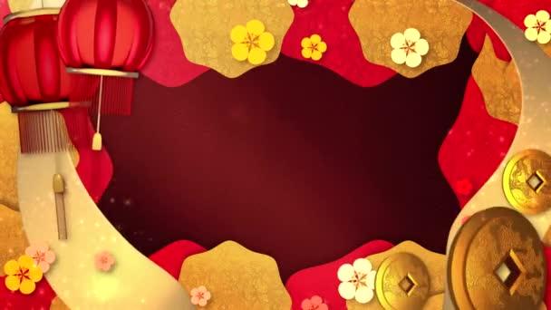Čínský Nový rok pozadí