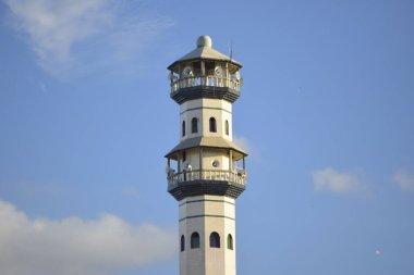 Mosque Tower lighthouse Closeup Building