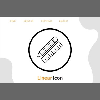 Pencil Scale icon for your project