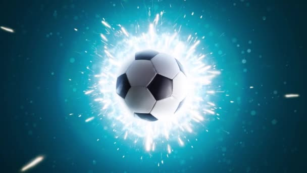 Soccer. Powerful soccer energy