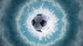 Soccer energy. Panorama