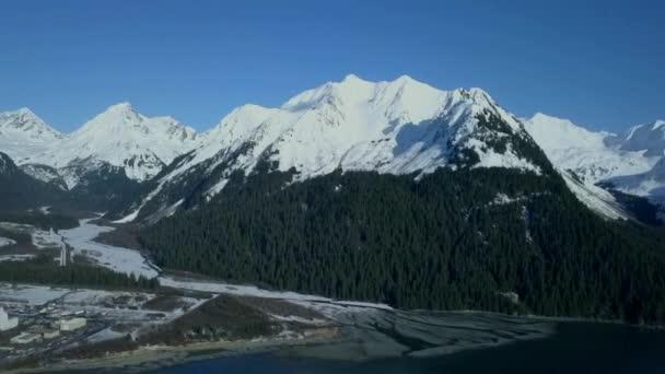 Úžasné zimní scenérie od Seward Aljaška