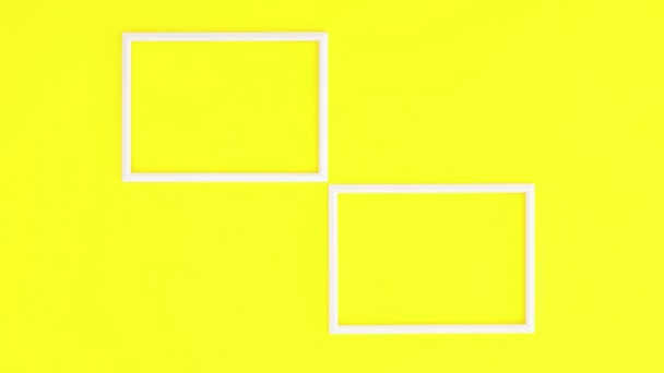 Kreatív képkeretek sárga témában. Állj!