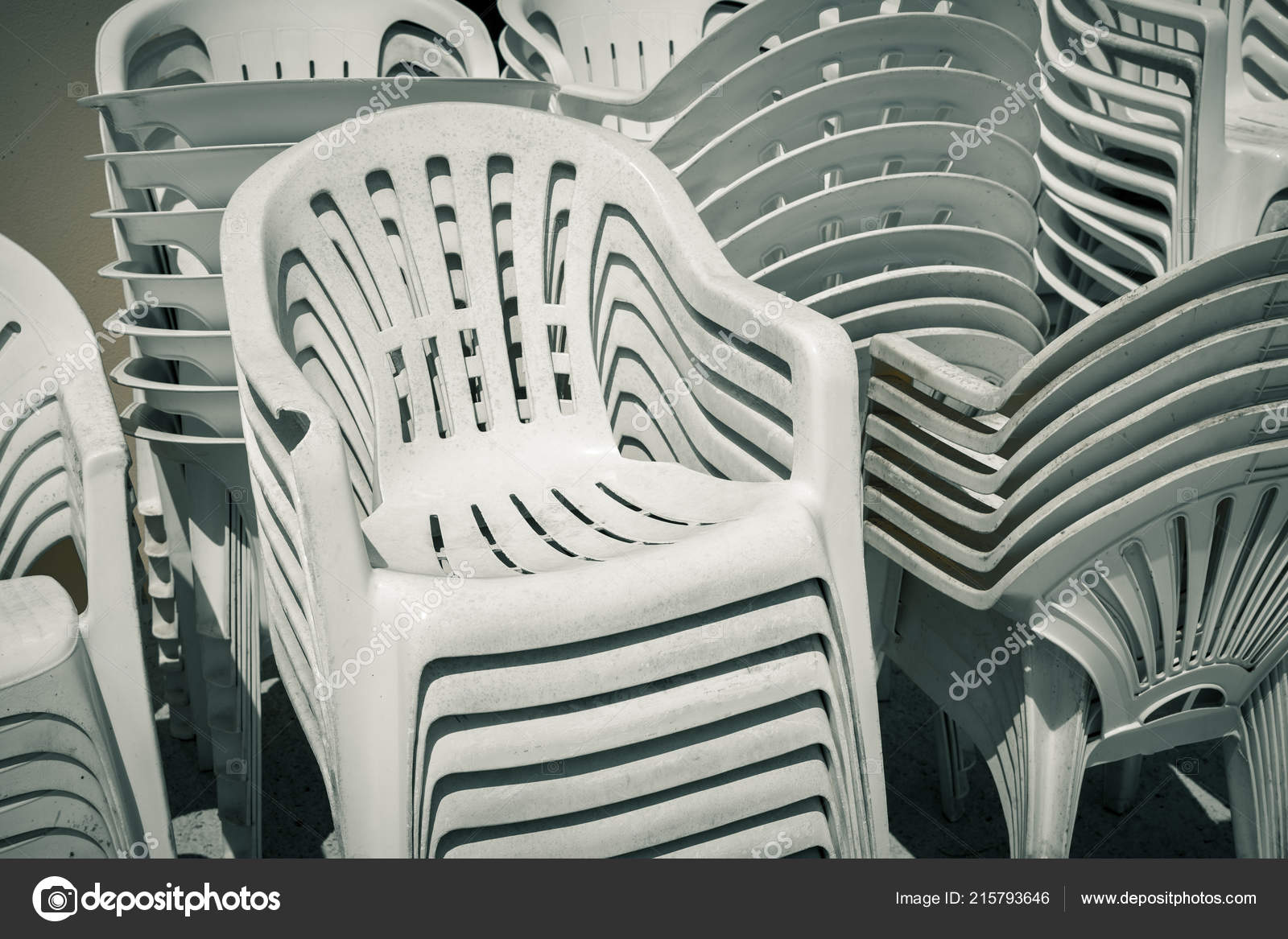 Fine Dirty Old Stacks Plastic Chairs Stock Photo C Narimbur Gmtry Best Dining Table And Chair Ideas Images Gmtryco