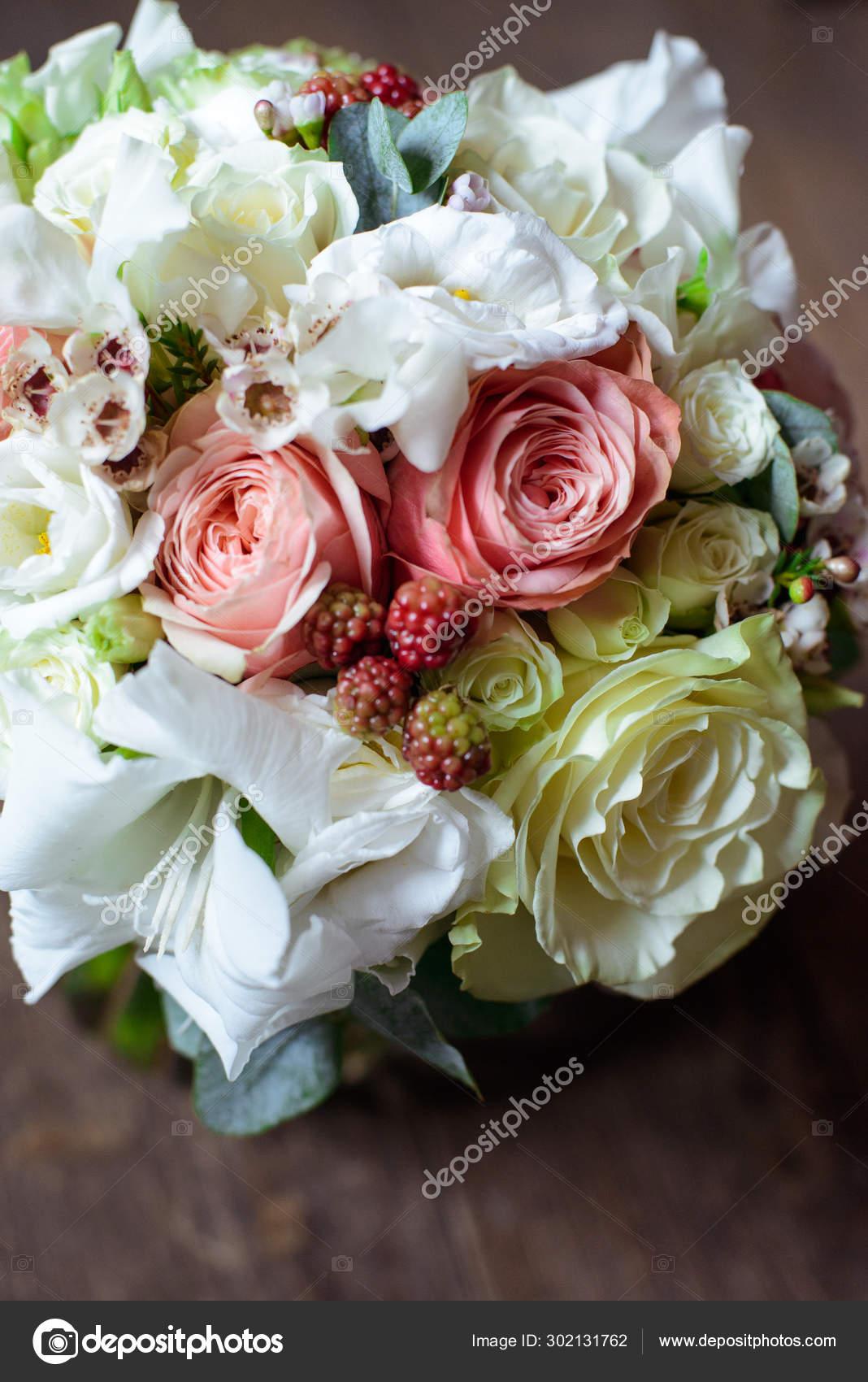 Most Beautiful Bouquet Flowers Anemone Rose Ranunculus Mattiola Tulip Eucalyptus Stock Photo C Plan905 302131762