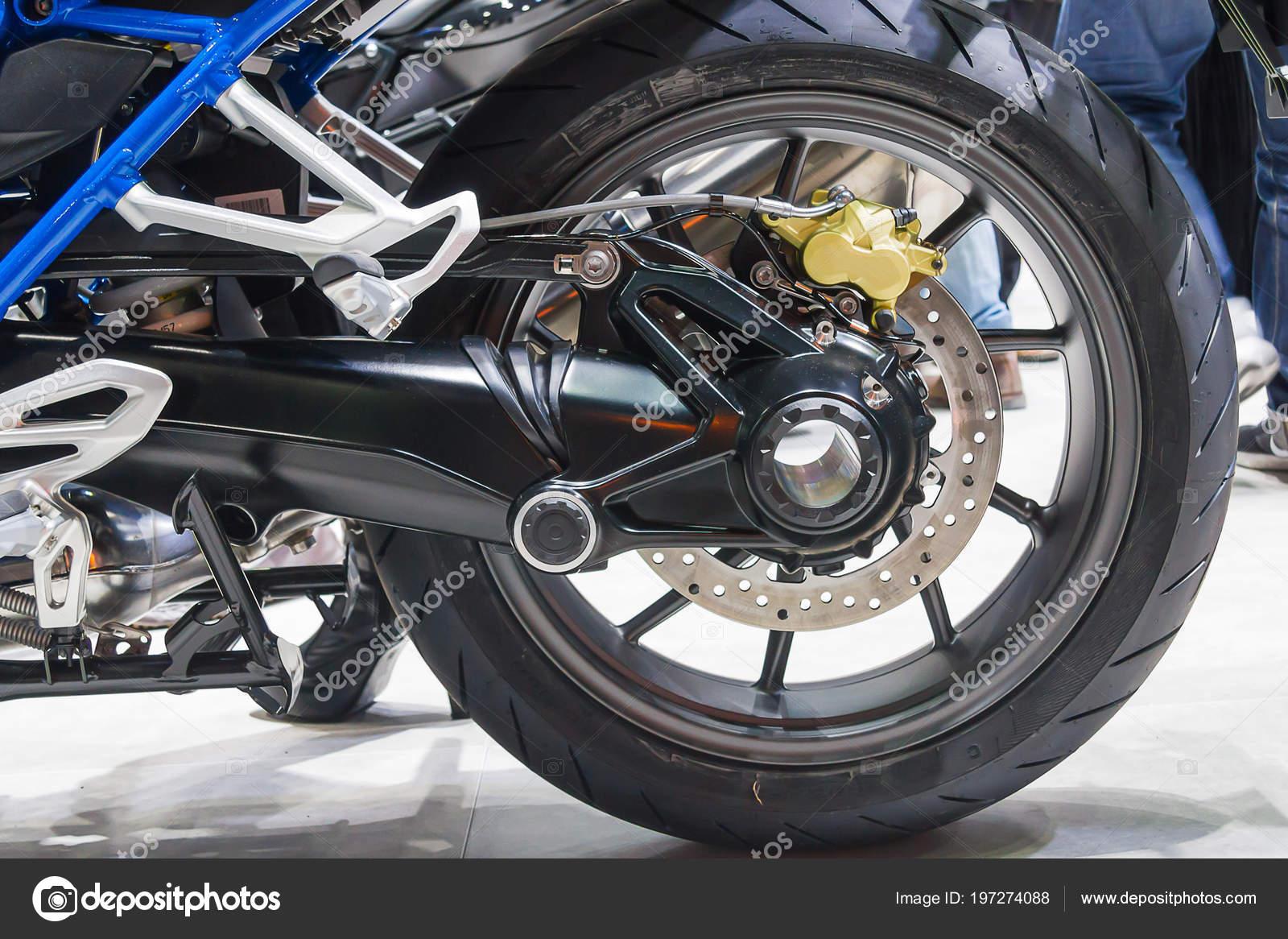 Back Wheel Motorcycle Disk Brake Stock Photo Image By C Ekapotfotothai 197274088