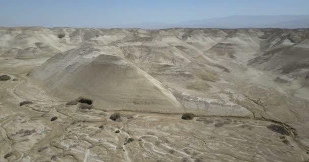 Panorámás kilátás nyílik a száraz és forró déli részén Jordan valley