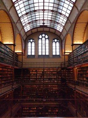 Rijksmuseum biblioteca, ciudad de Amsterdam
