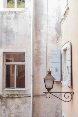 Beautiful Mediterranean architecture facade.