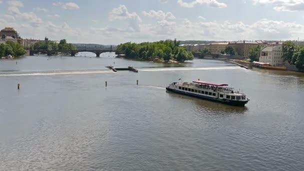 řeka Vltava v Praze, Česká republika
