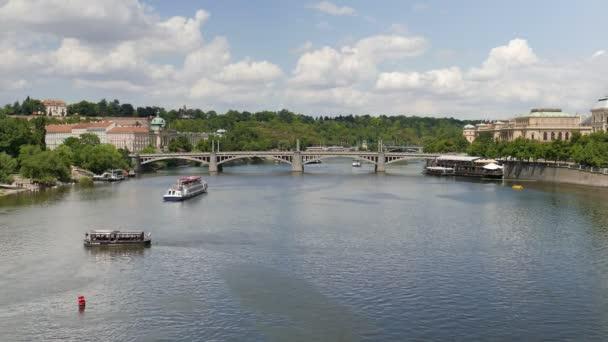 Vltava river, Praha, Česká republika