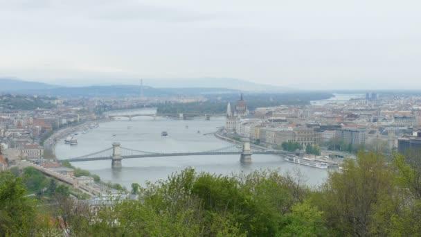 Légifelvétel Budapesten és Duna-parton, Magyarország