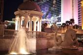 Nachtansicht des Stadtzentrums von Las Vegas