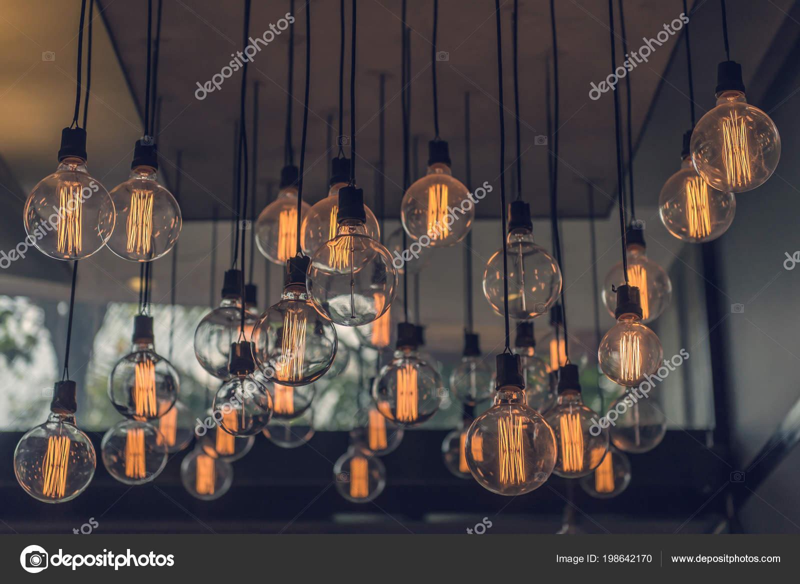 Splendido arredamento vintage illuminazione interni edifici u foto