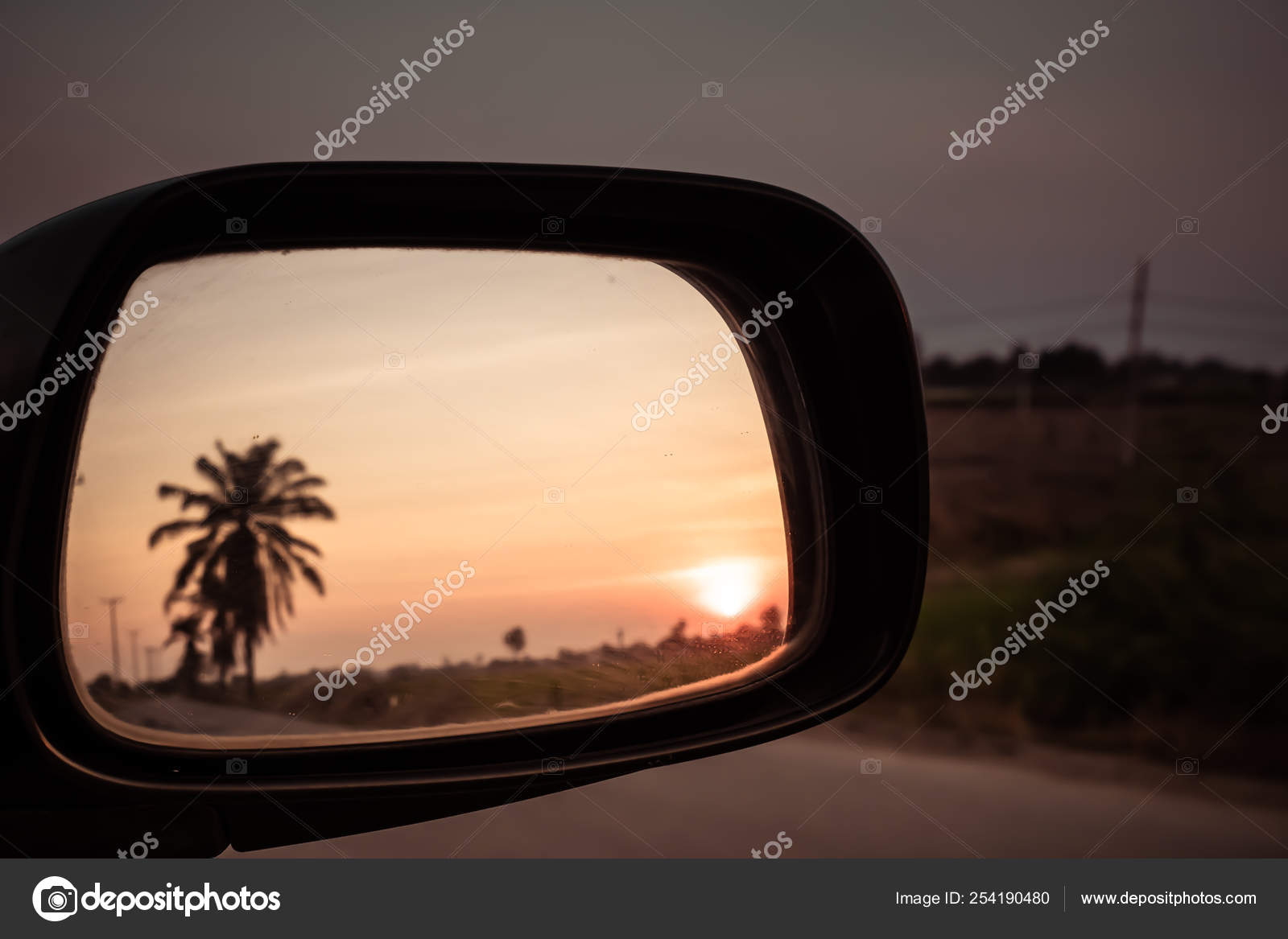 Car Driving Through Field Blur Viewed From Outside Driver Windowat Sunset Concept Idea Background Stock Photo C Nun Prctm Gmail Com 254190480