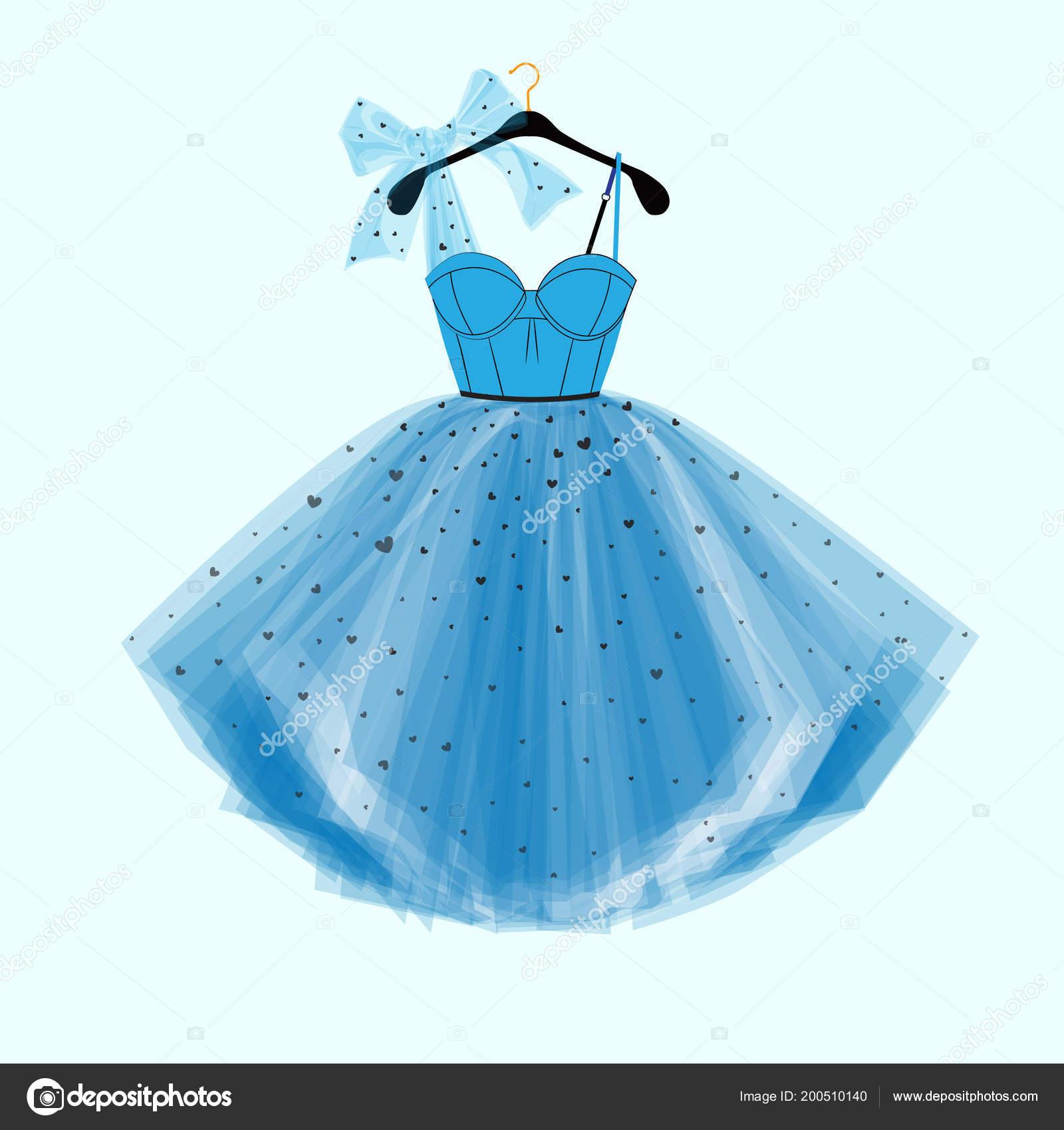 Vector Line Prom Dress