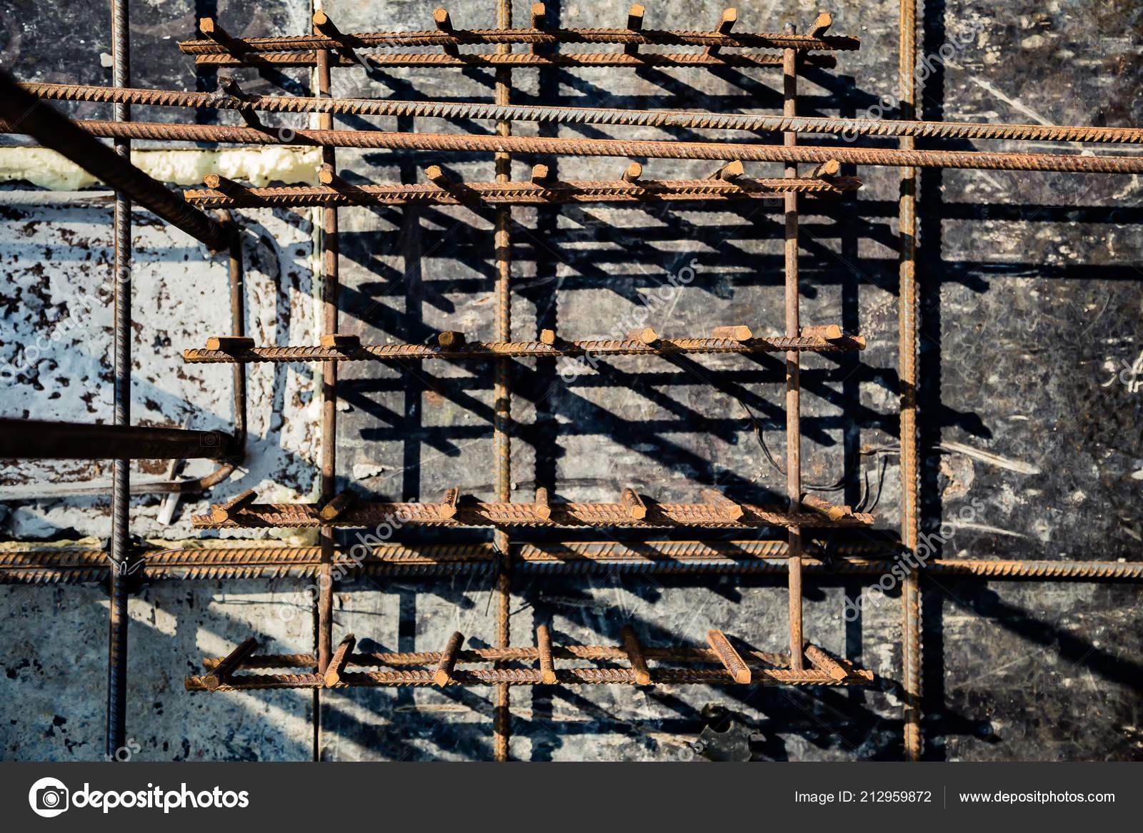 Armature Formwork Panel Building Background — Stock Photo