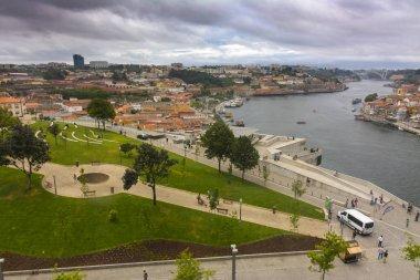 Morro garden and Douro river