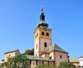Fotografie Bell tower Banska Bystrica katedrála, Slovensko