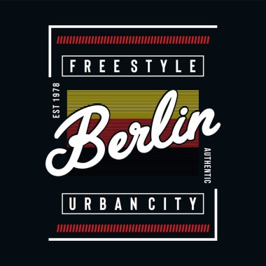 berlin-urban-city-typografhy-design---Vector-for-t-shirt