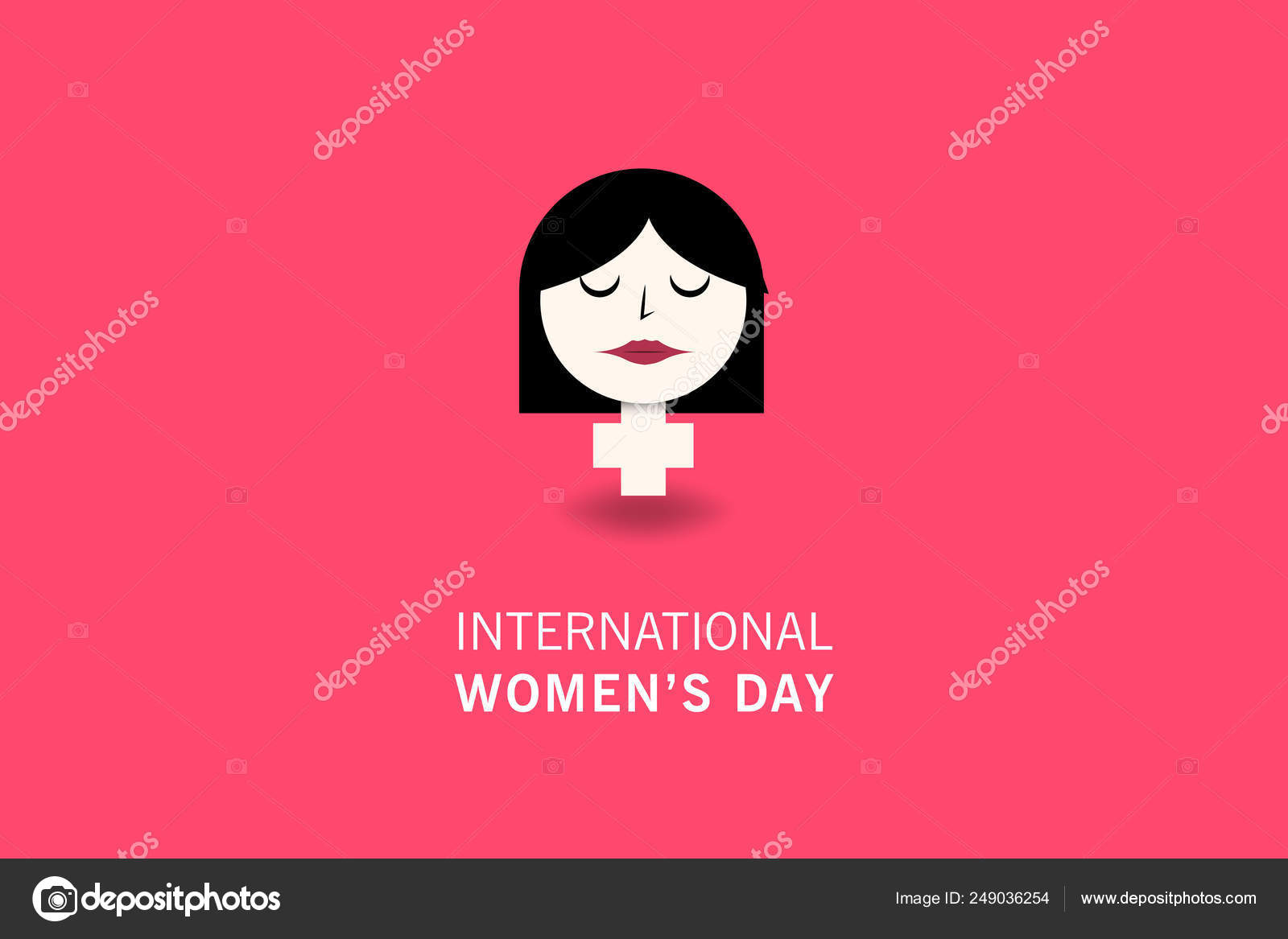 International Women Day Happy Mother Day Poster Background