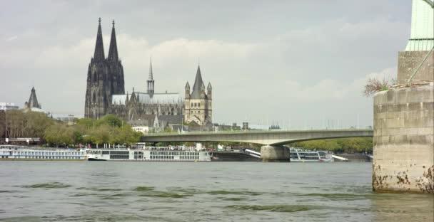 Kölner Dom und Severinbrücke 4k