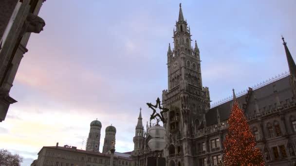Marienplatz zu Weihnachten in München