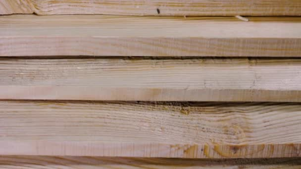 Timber industry objects. Finished wood plank
