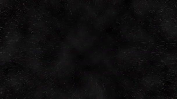 4k mozgás absztrakt hátterét utazás arany csillag mezők, univerzum galaxis térben. háttér-arany mozgás, varrat nélküli hurok