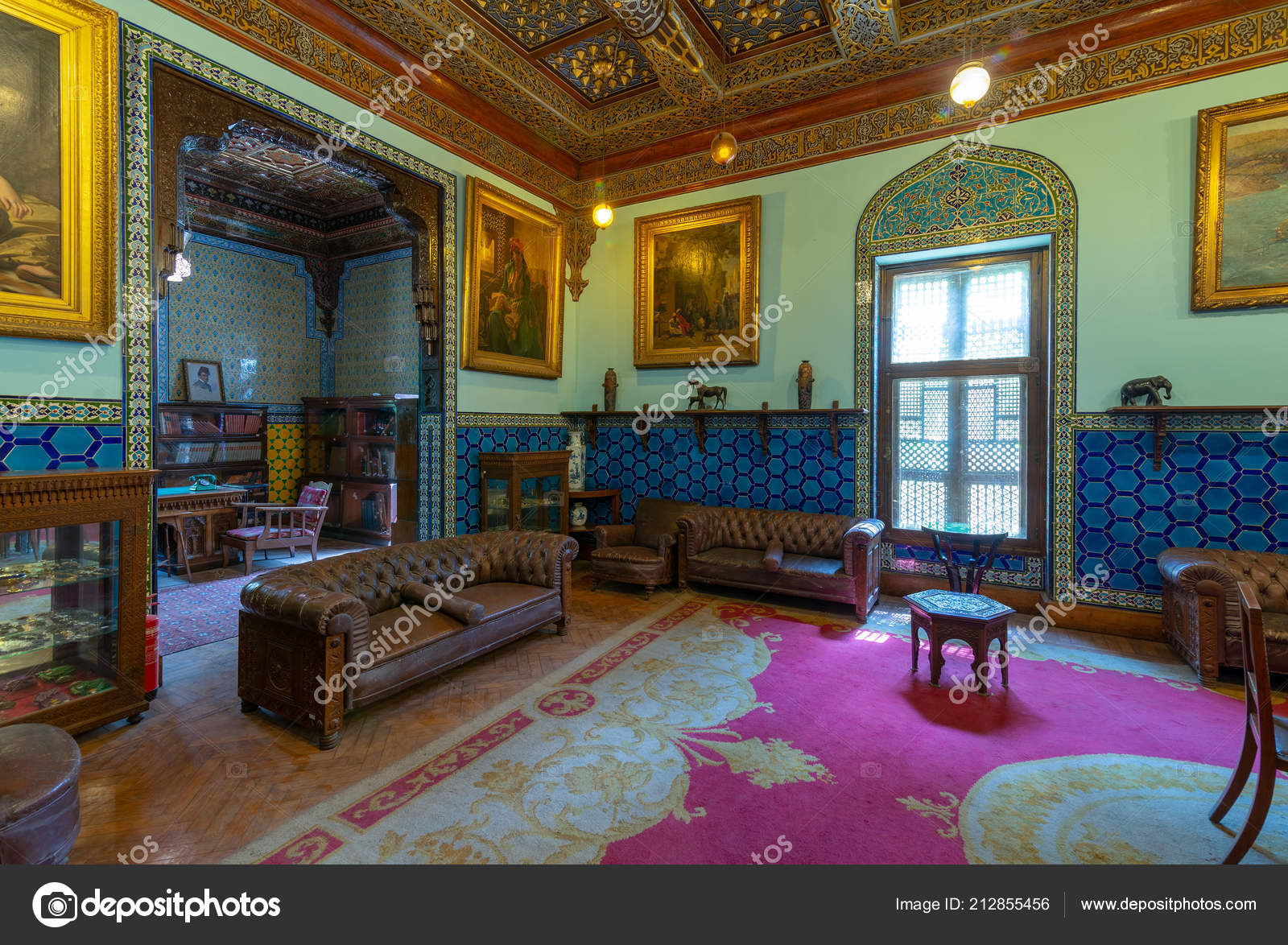 Kairo Agypten August 2018 Manial Palast Von Prinz Mohammed Ali