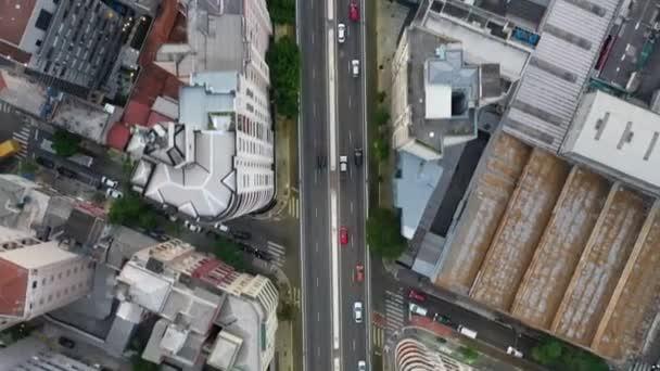 Cityscape view.Traffic view of bridge in Sao Paulo, Brazil. Suburban district view. Urban city life scene. Suburban neighborhood view of traffic on the bridge.Cityscape view. Traffic view of bridge.Suburban neighborhood view of traffic on the bridge.