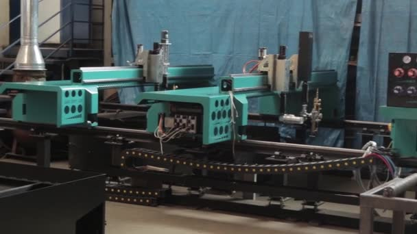 one of many machines at the factory