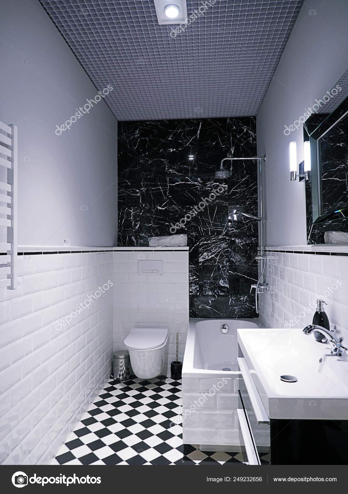 Bathroom Interior Decoration In A Store Leroy Merlin A French Headquartered Home Improvement And Gardening Retailer Serving Several Countries In Europe 1 October 2017 Poznan Poland Stock Editorial Photo C Digitalmammoth 249232656