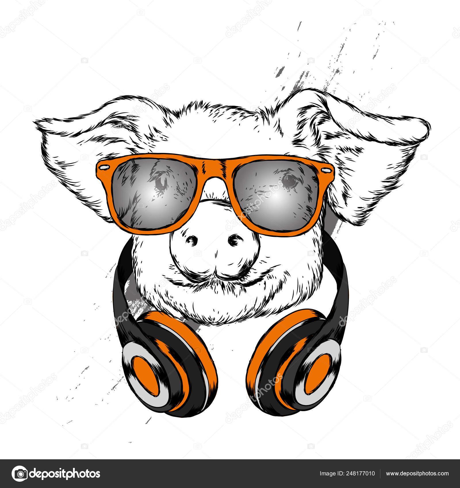 выбор свинья в наушниках картинка обойма предлагает