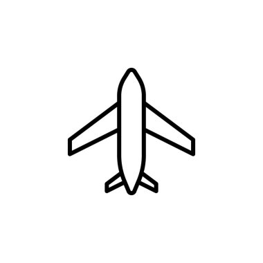 plane icon stock of transportation vehicles isolated vector