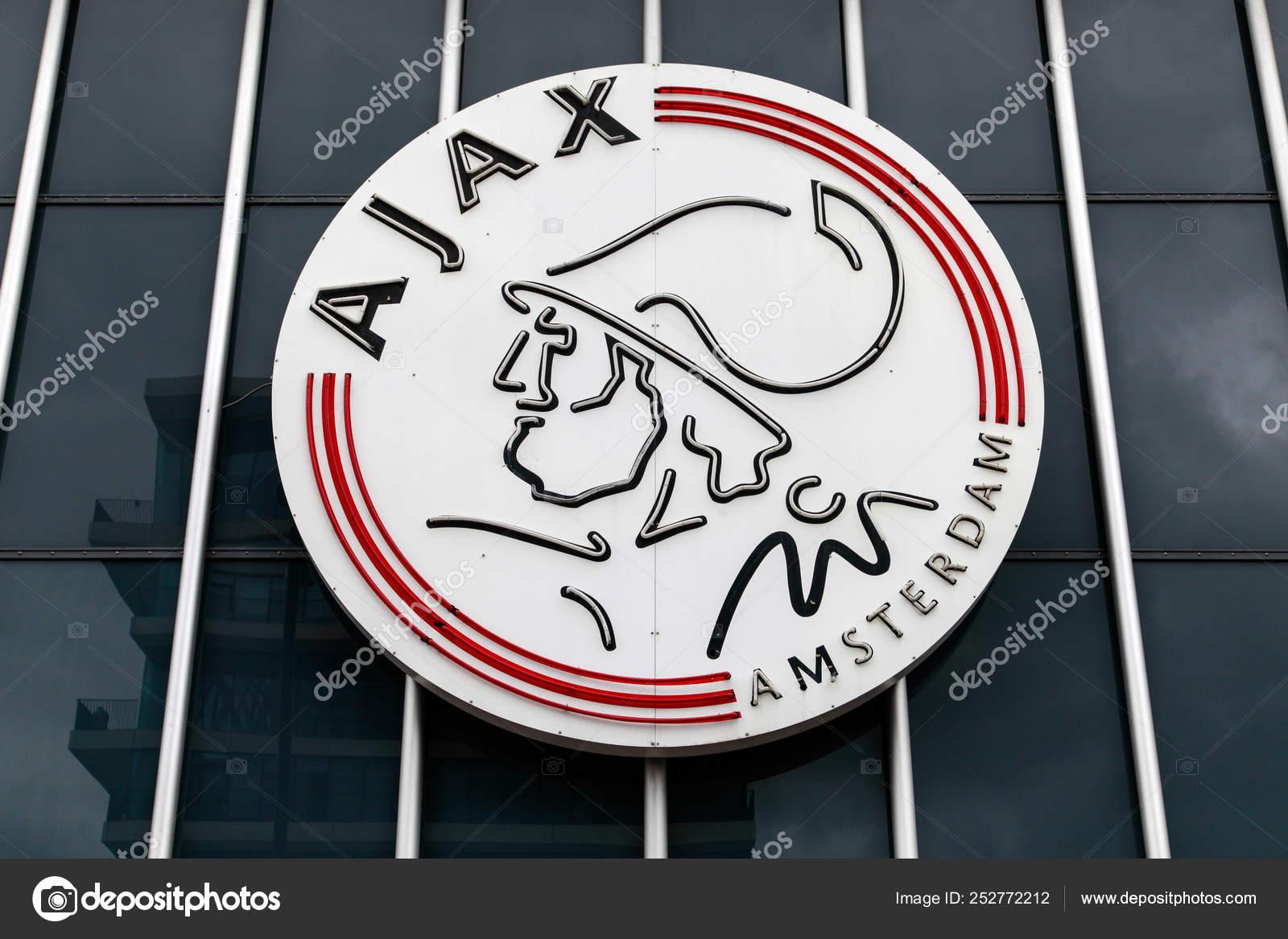 Logo Ajax Amsterdam Arena Netherlands Stock Editorial Photo C Michael715 252772212