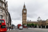 Híres londoni Big ben Angliában