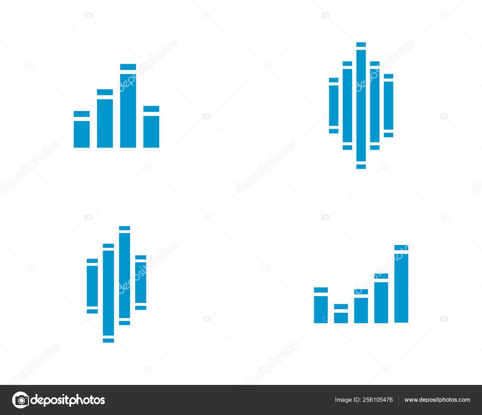 Sound waves vector illustration — Stock Vector