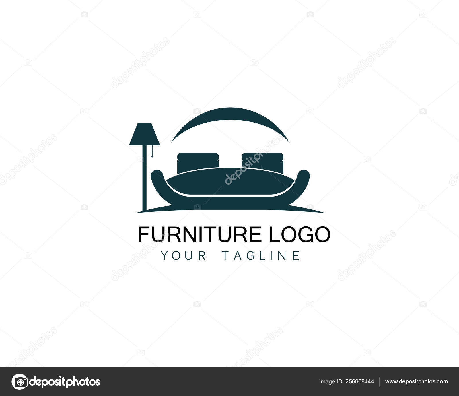 Sofa Logo Design Furniture Sofa Logo Design Icon Template