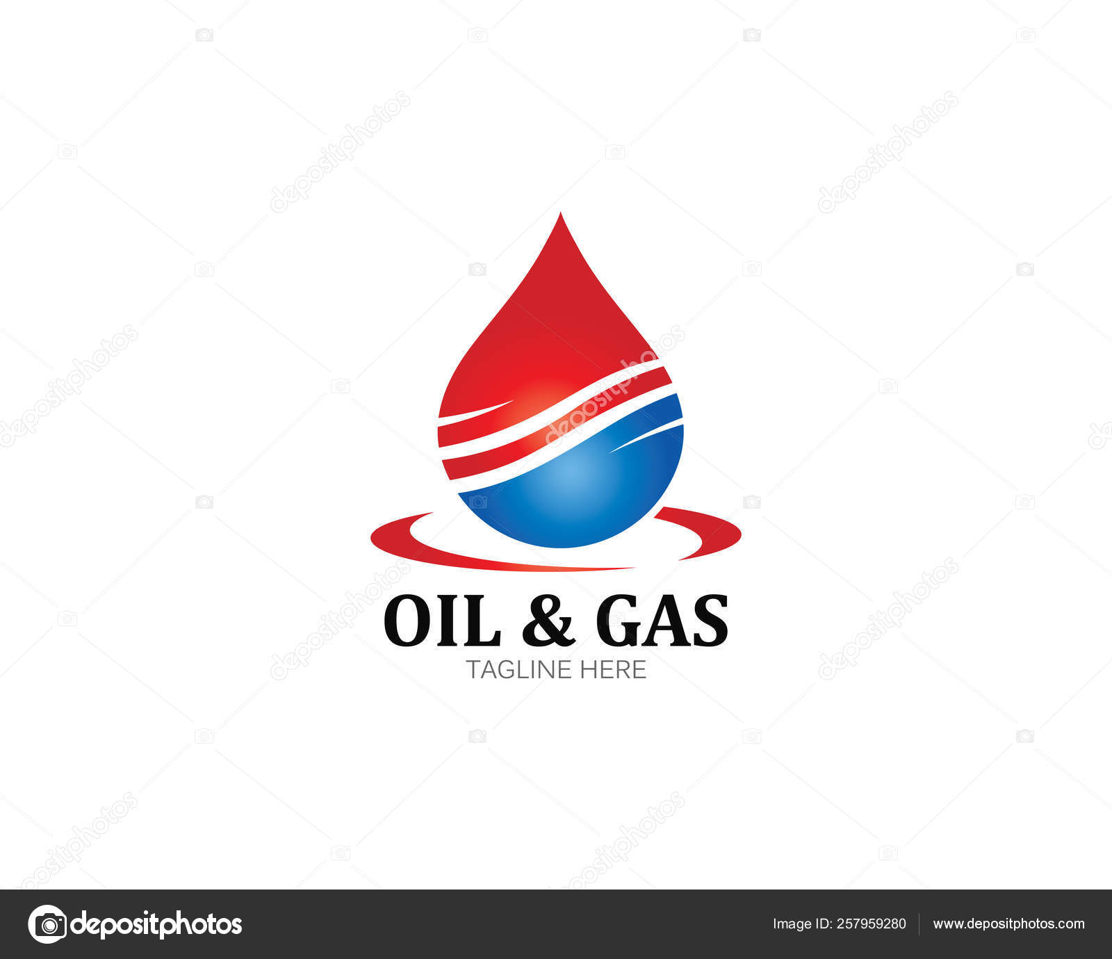 Vector Oil Gas And Energy Logo Stock Vector C Uminurwakhidah875 257959280
