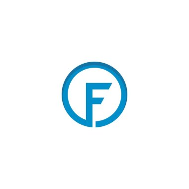 Letter F logo icon design template elements icon
