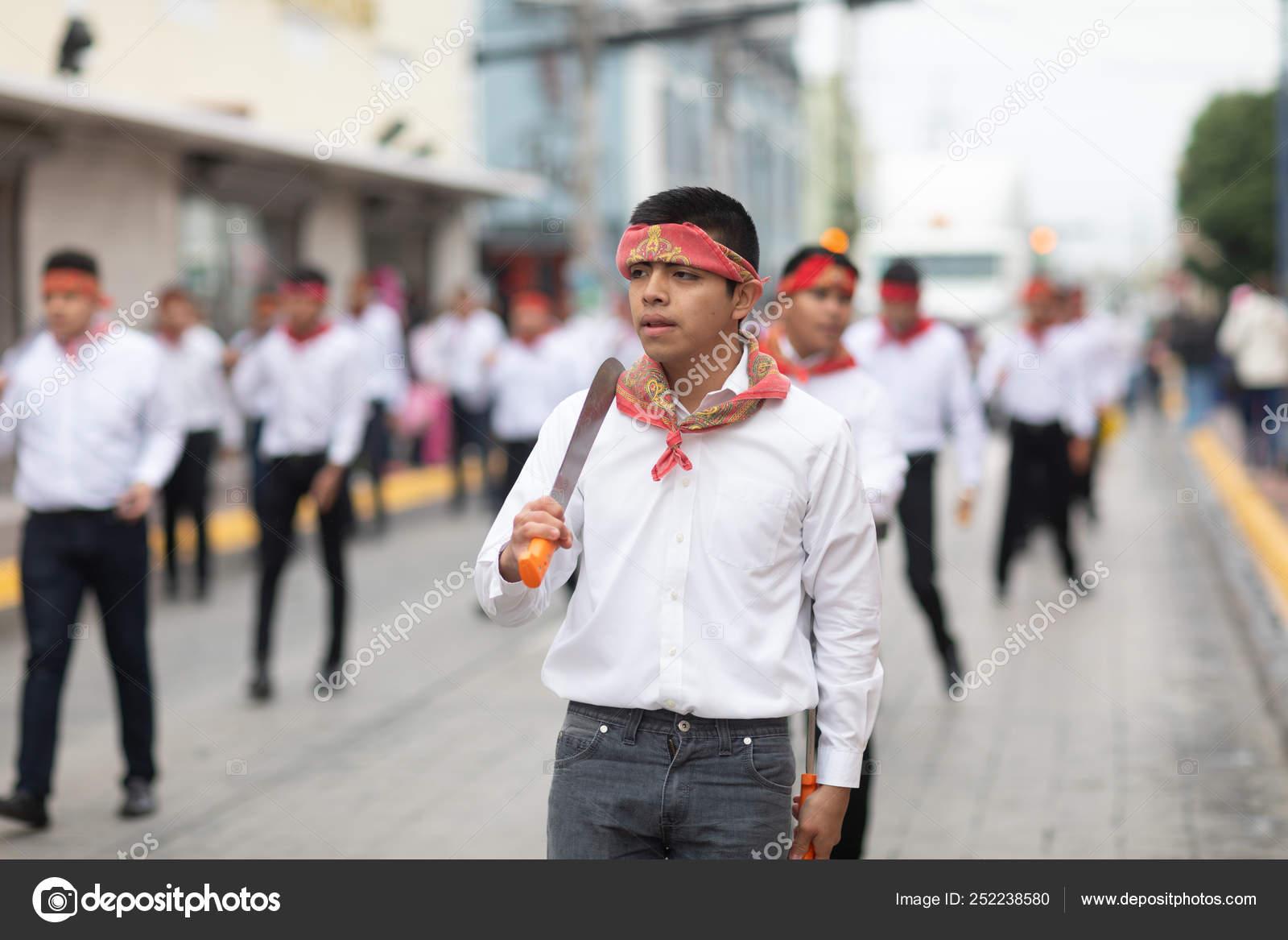El Desfile Del 20 De Noviembre 2018 Foto Editorial De