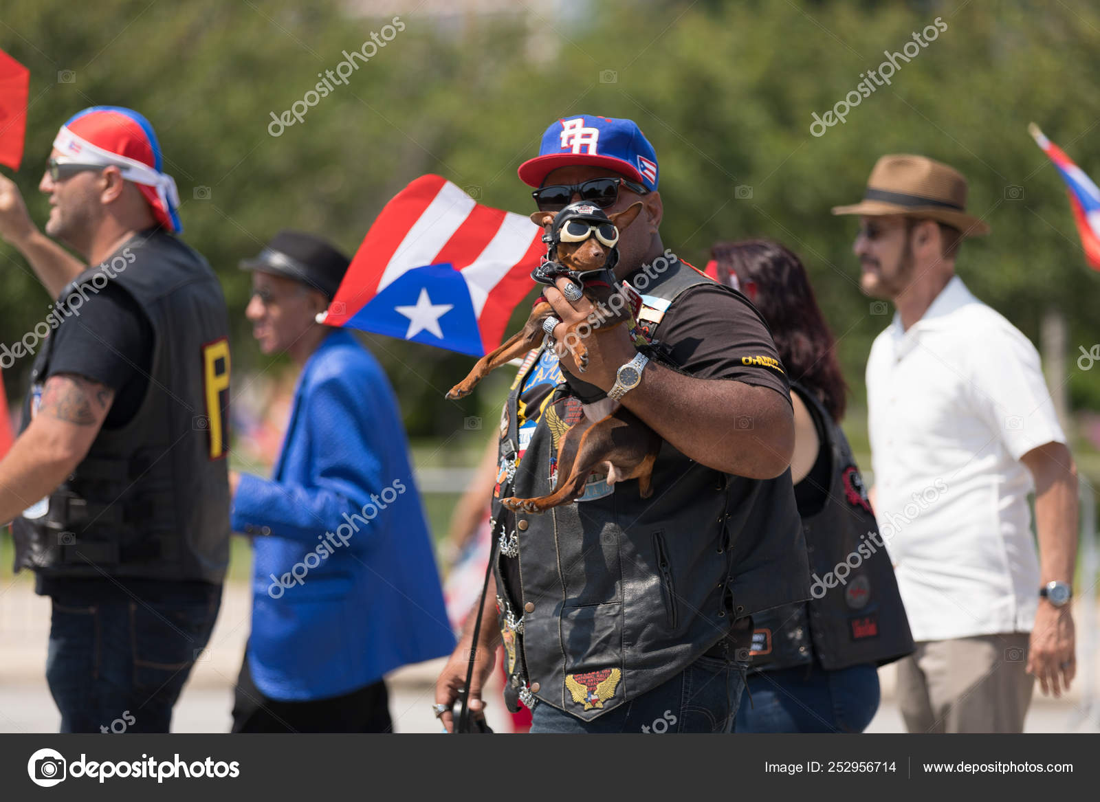 The Puerto Rican Day Parade 2018 Stock Editorial Photo