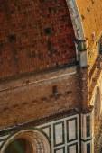 Fotografie Ansicht von oben der Kirche Basilica di Santa Maria del Fiore, Florenz Duomo, Italien