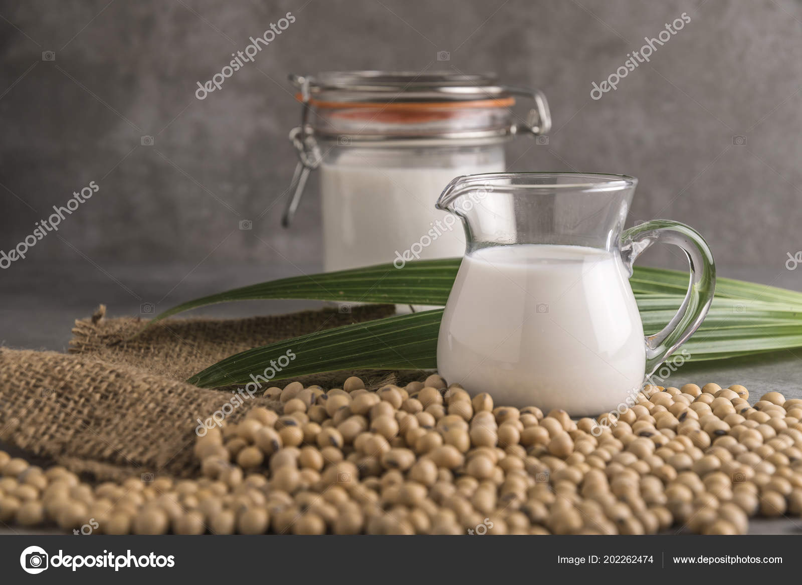 leche de soja composicion
