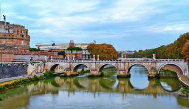 . Bridge on the river.