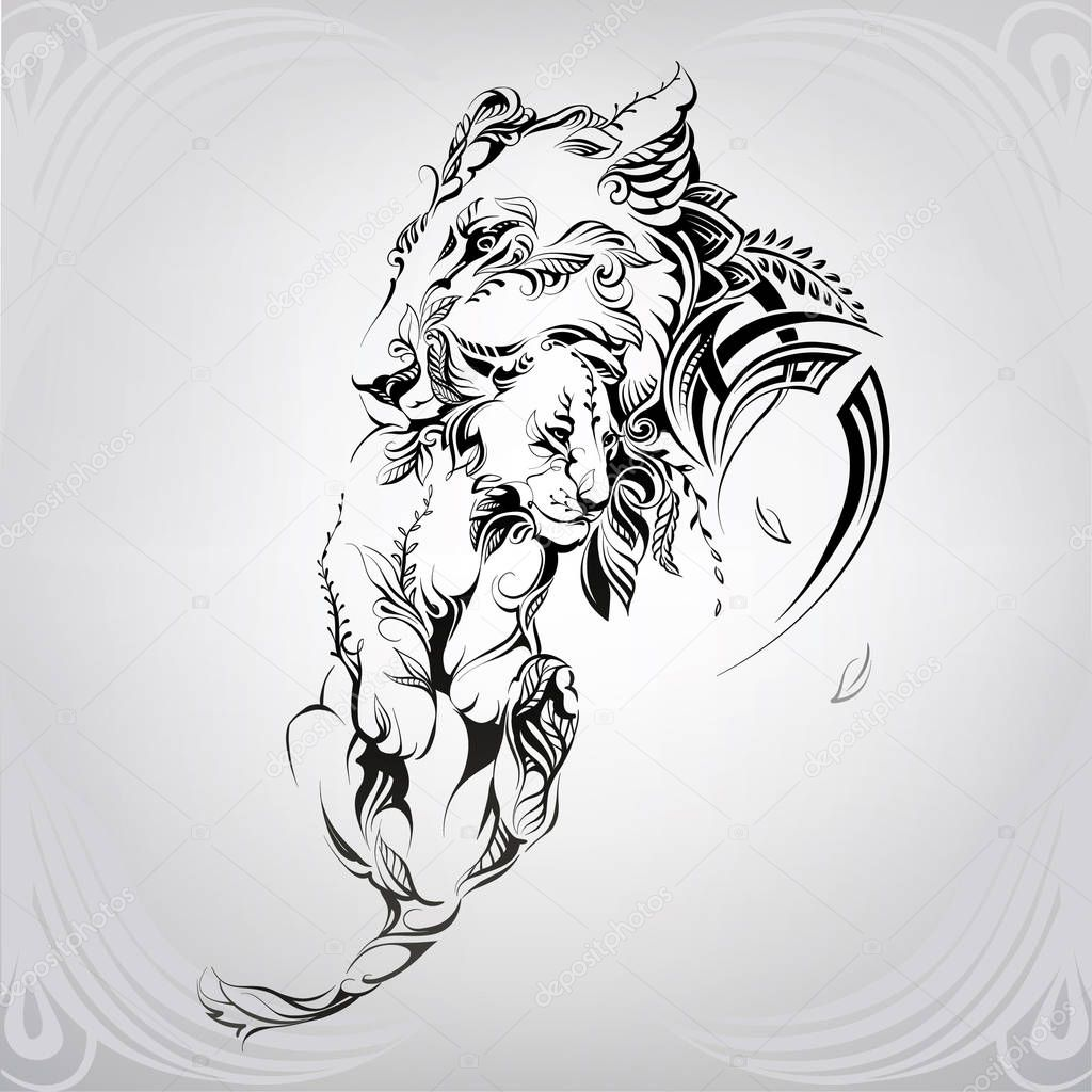 Lioness With A Lion Cub In The Ornament Premium Vector In Adobe Illustrator Ai Ai Format Encapsulated Postscript Eps Eps Format This page is about lion cub outline drawing,contains lion outline png clip free,lion cub stock illustration,lion cub pencil drawing print subject of this article:lion cub outline drawing (page 1). lioness with a lion cub in the ornament
