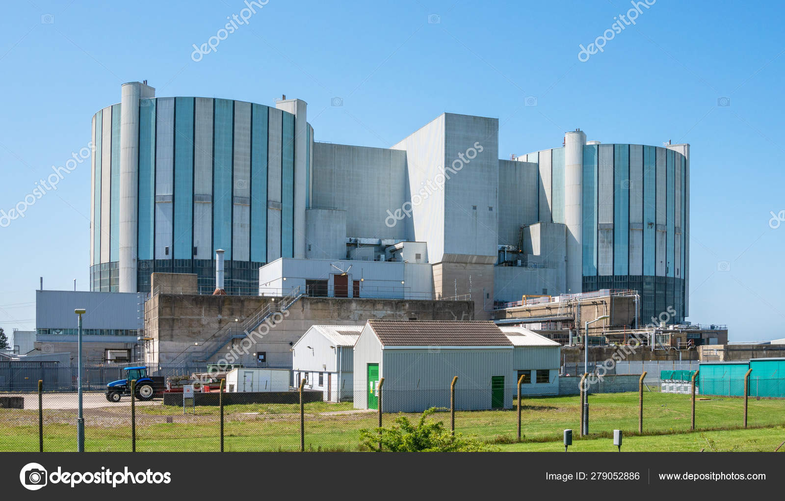 Oldbury Magnox Nuclear Power Station Now Decommissioned One