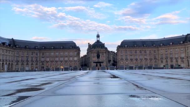 Bordeaux, Francie-červenec 01 2018: Place de La Bourse