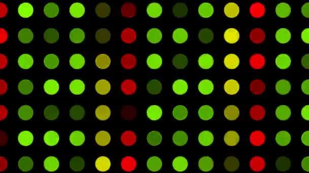 Elektronika LED Panel animace elektronického panelu LED (smyčka)